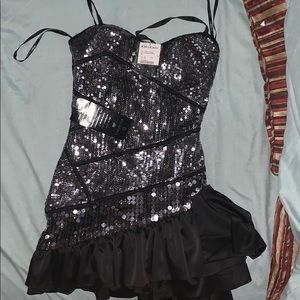 Brand new bebe sequined dress